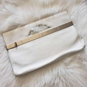 Marc Jacobs clutch white